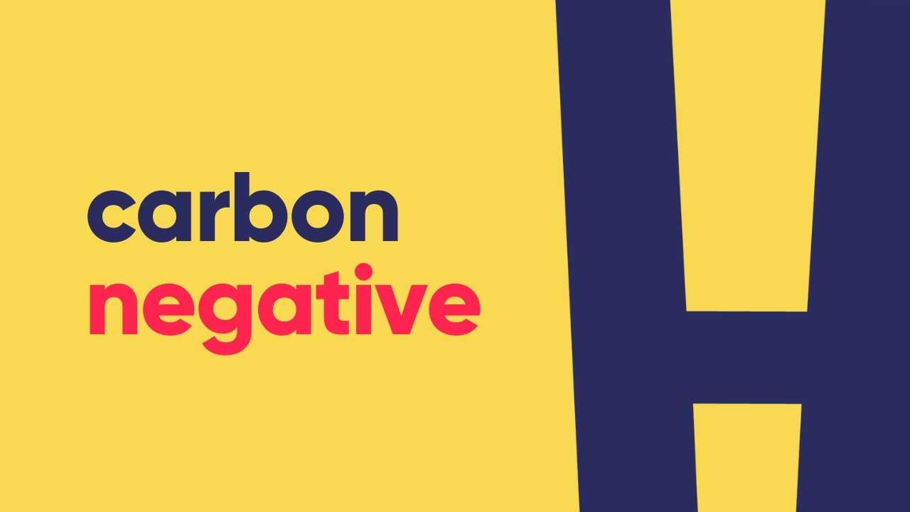 honest mobile carbon negative logo