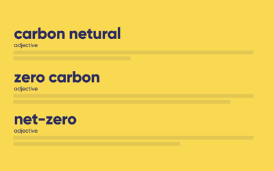 what's the difference between carbon neutral, zero-carbon and net-zero?