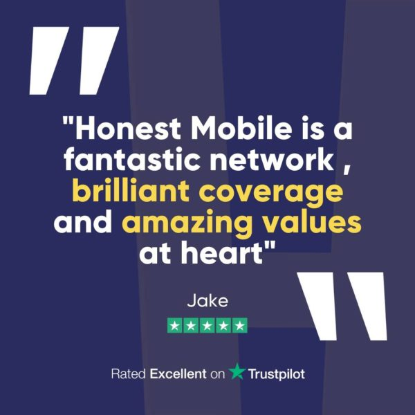 """Honest Mobile Review: """"Honest Mobile is a fantastic network, brilliant coverage and amazing values at heart"""""""