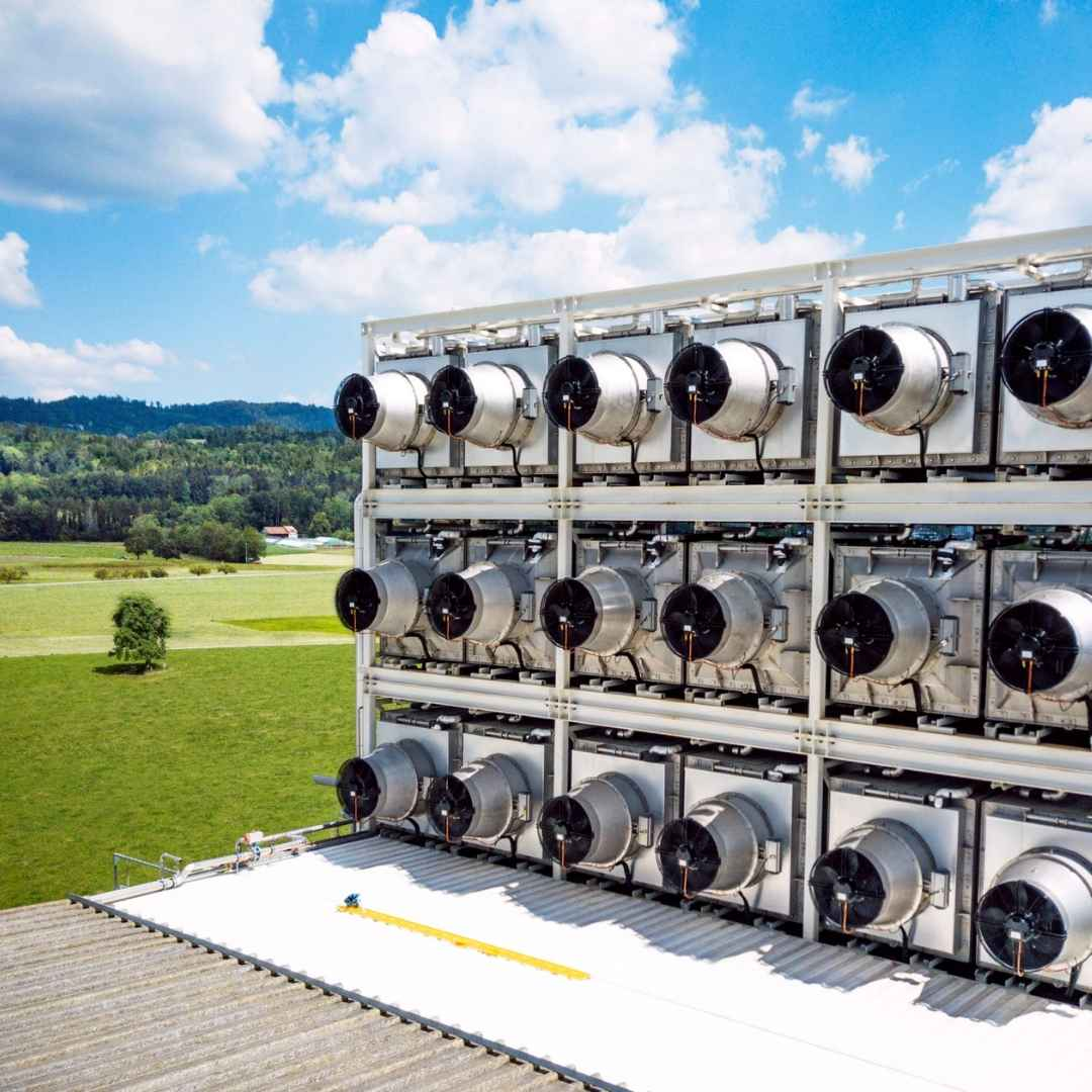 Direct Air Capture Fans from Climeworks