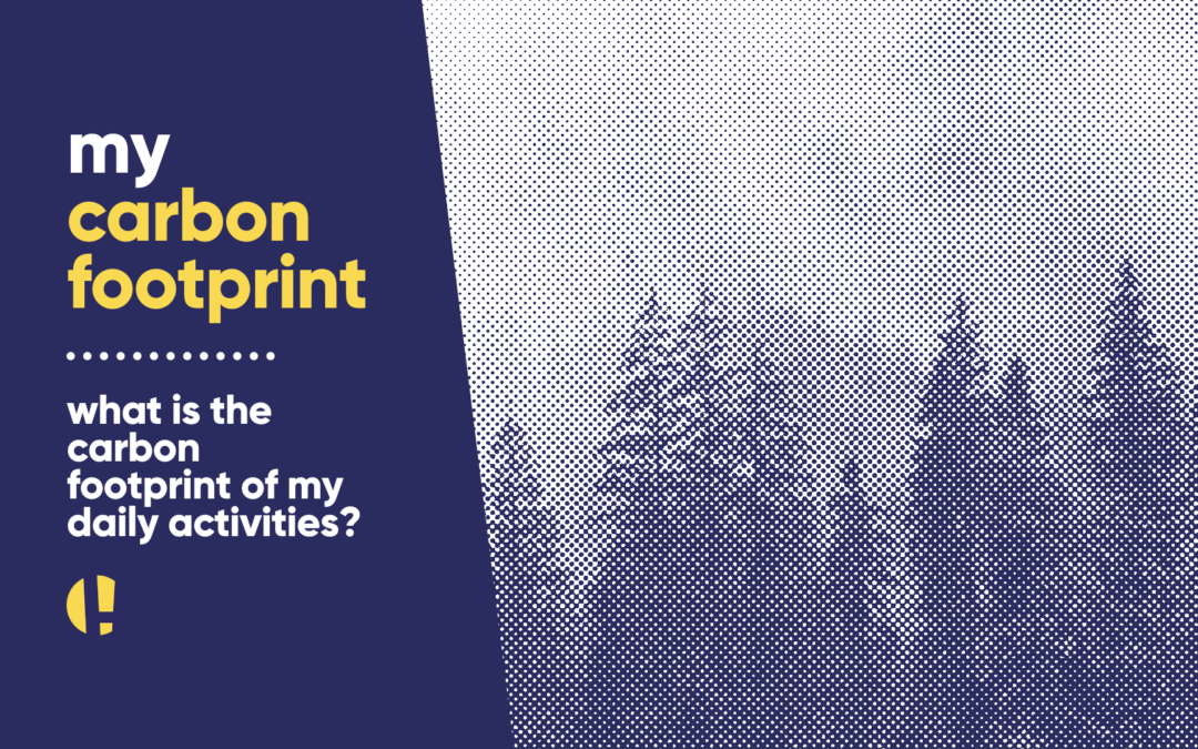 what's the carbon footprint of my daily activities?